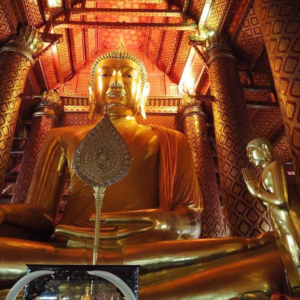 Ayutthaya Budda Wat Phanan Choeng