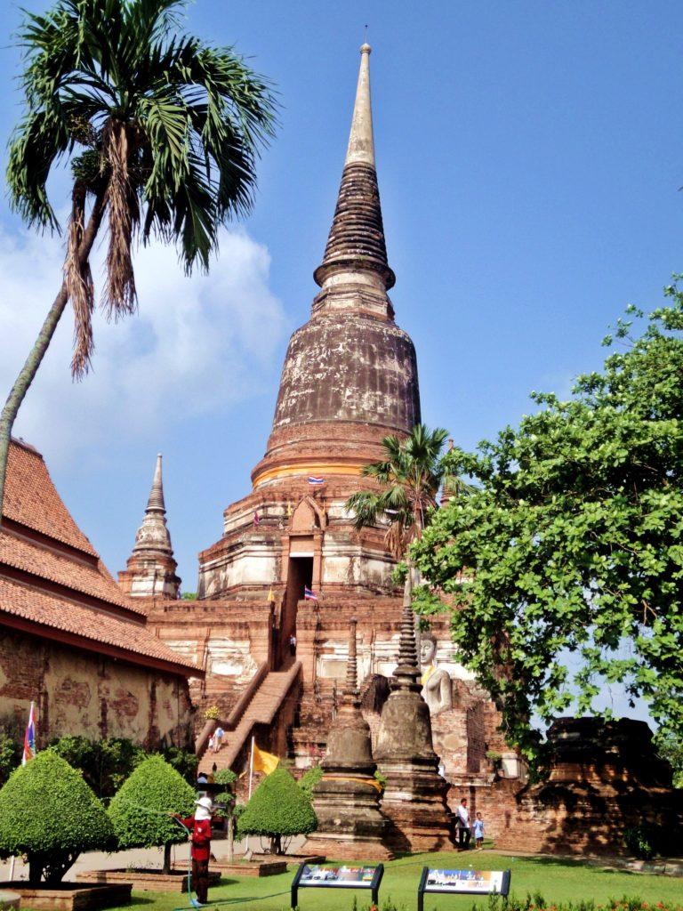 Ayutthaya Chedi Thailand