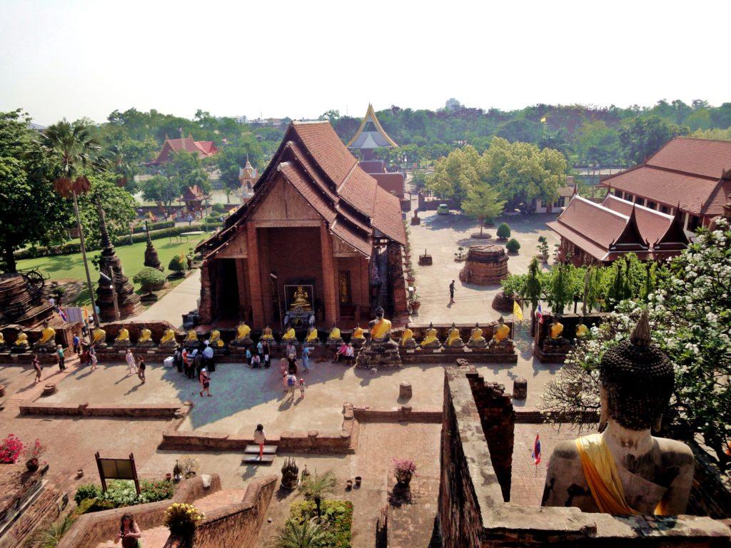 Tempel Ayutthaya Thailand