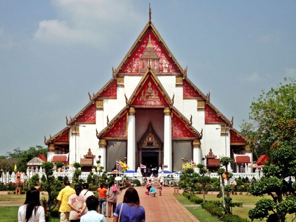Tempel Ayutthaya Wat Phra Mongkhon Bophit