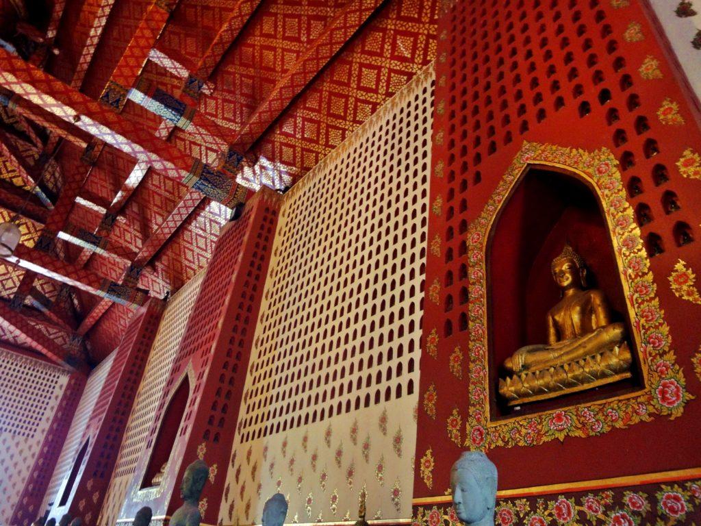 Tempel in Ayutthaya Buddha Thailand
