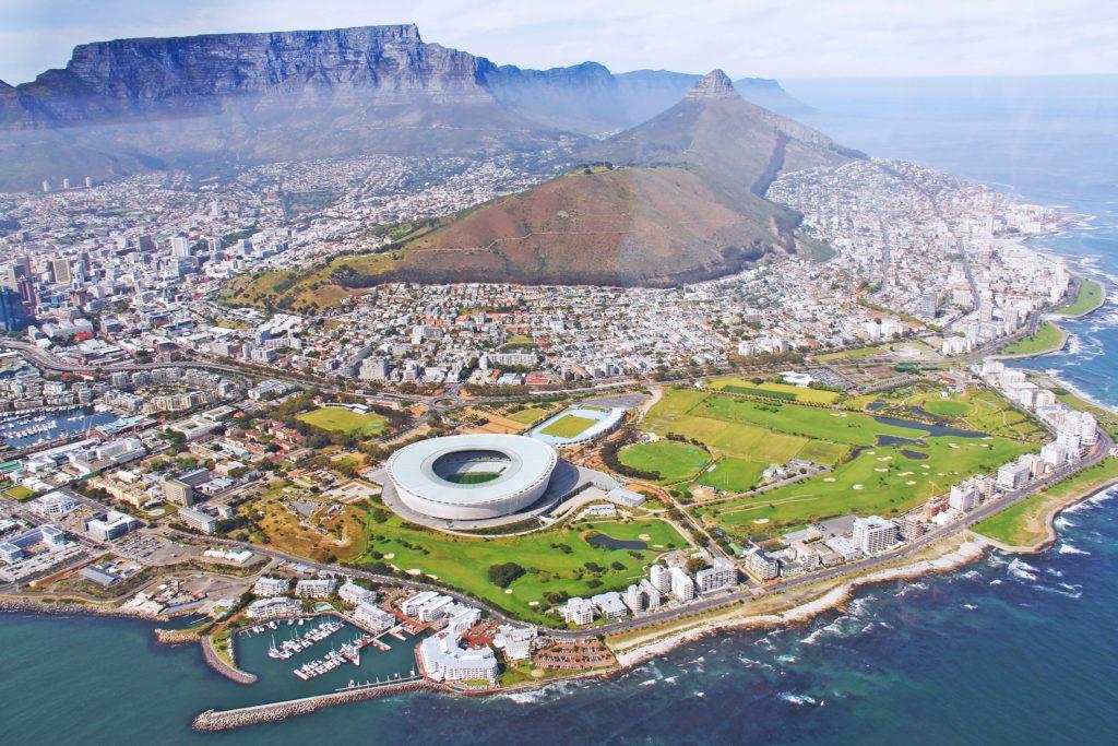 Kapstadt Berge Meer