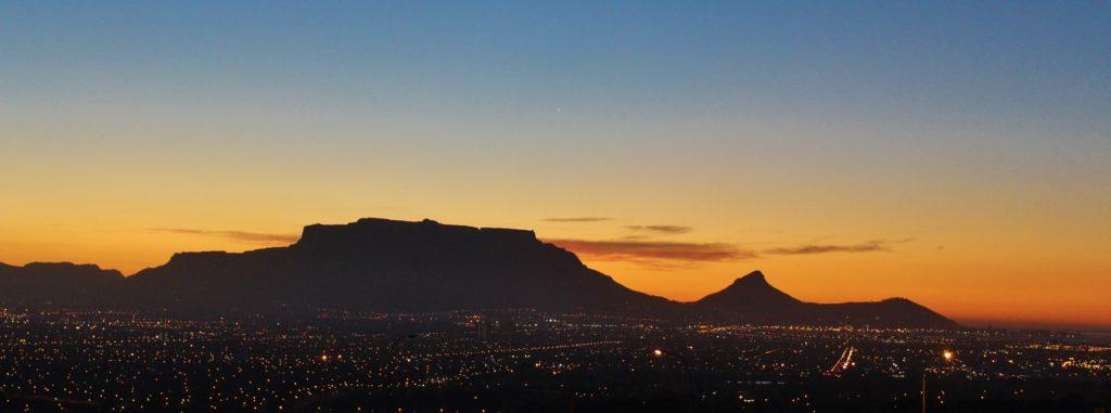 Kapstadt Sonnenuntergang