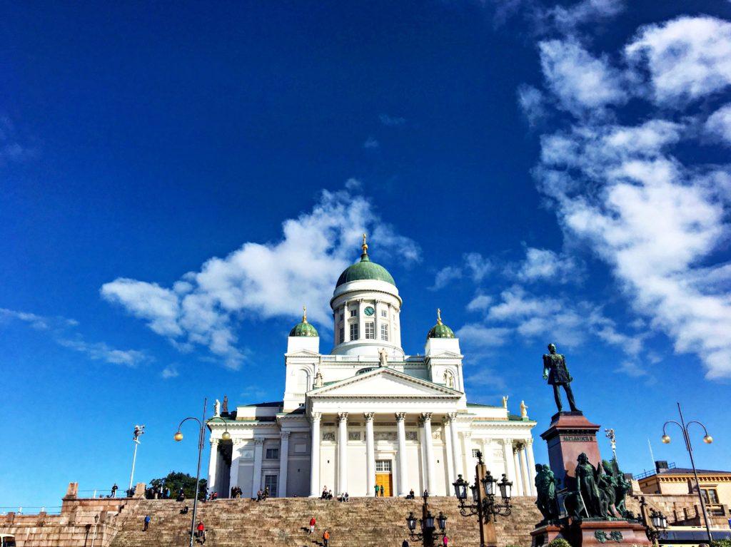 Kreuzfahrt - Helsinki AIDAmar Ostsee - Dom von Helsinki
