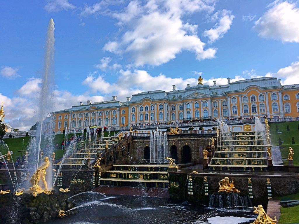 Kreuzfahrt - St. Petersburg AIDAmar Ostsee - Schloss Peterhof