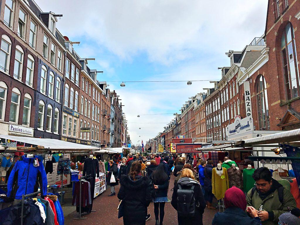 Albert Cupy Markt Amsterdam - Wochenende in Amsterdam