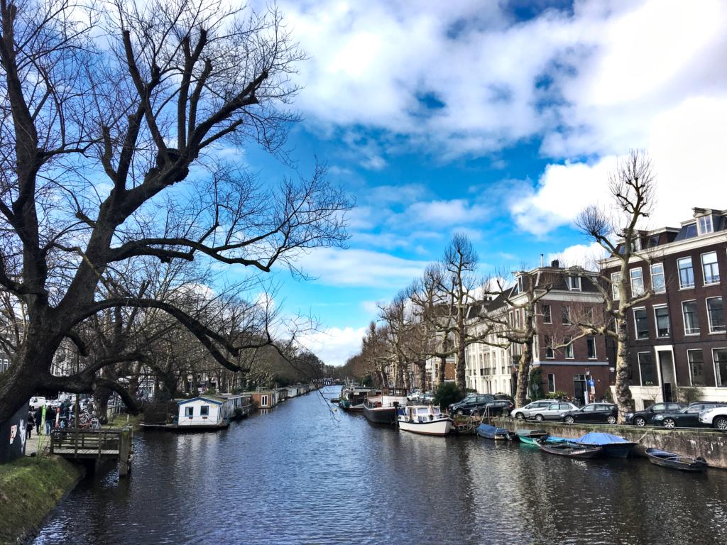 Grachten in Amsterdam - Wochenende in Amsterdam