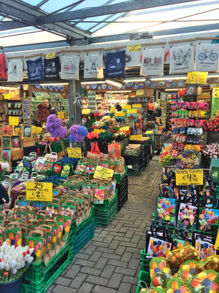 Blumenmarkt Amsterdam - Wochenende in Amsterdam