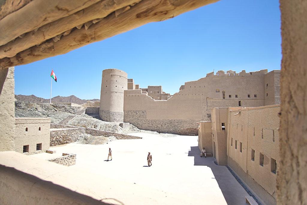 Oman Reiseroute - Bahla Fort Festung