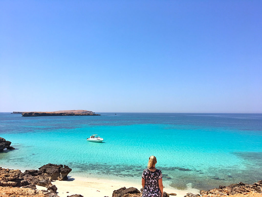 Oman Reiseroute- Muscat Muskat - Daymaniyat Islands Schnorcheln