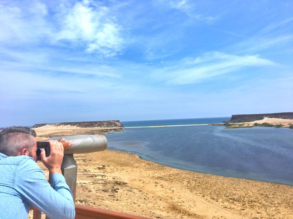 Oman Reiseroute - Salalah - Khor Rori Sumhuram Ausgrabungsstätte Taqah