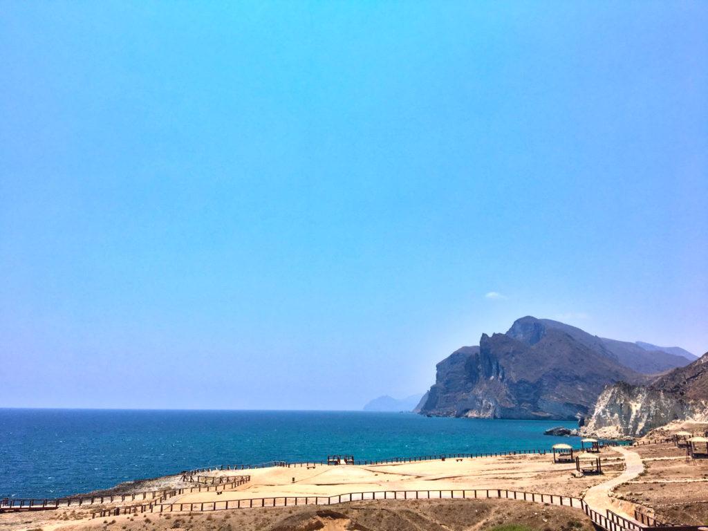 Oman Reiseroute - Salalah - Mughsail Beach - Blowholes