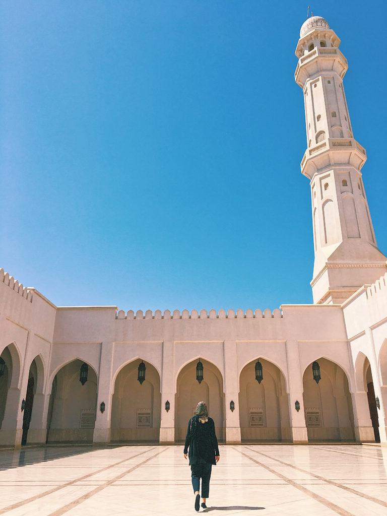 Oman Reiseroute - Salalah - Sultan Qaboos Moschee