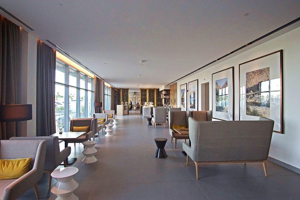 Sundus Rotana - Muscat Stopover Hotel - Restaurant Lobby