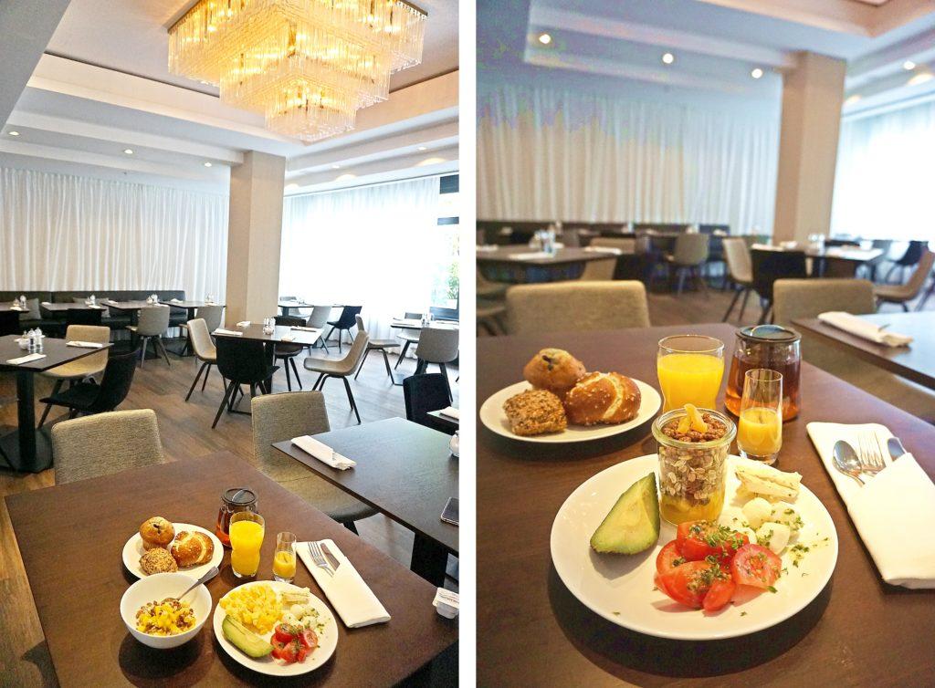 Le Méridien Frankfurt - Zentrales Hotel Frankfurt Trip - Restaurant The Cloud Essen Trinken Frühstück Brunch