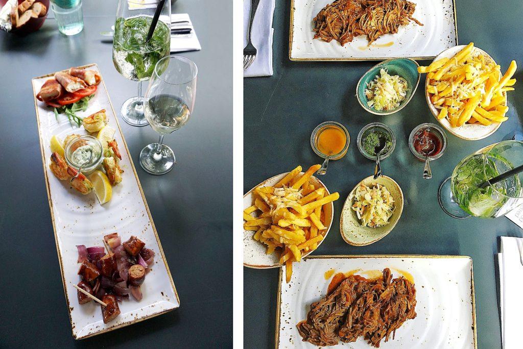 Le Méridien Frankfurt - Zentrales Hotel Frankfurt Trip - Restaurant The Legacy Bar & Grill - Mittagessen Abendessen Essen Trinken