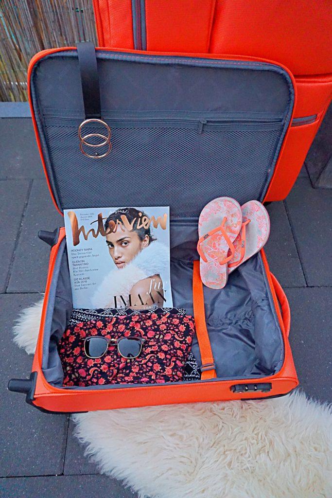 Dein perfekter Reisekoffer von Travelmax - Jump orange - Handgepäck, Reisegepäck